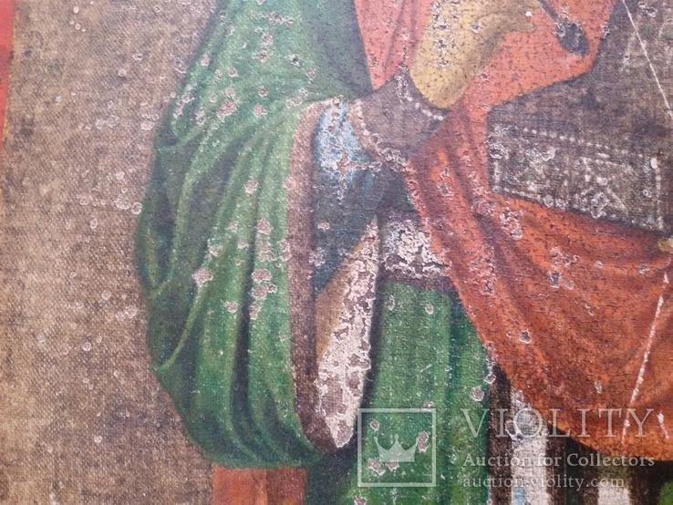 Икона Пантелеимон Целитель, благословение св. Афонской Горы, фото №10