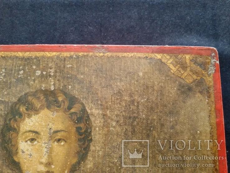 Икона Пантелеимон Целитель, благословение св. Афонской Горы, фото №11
