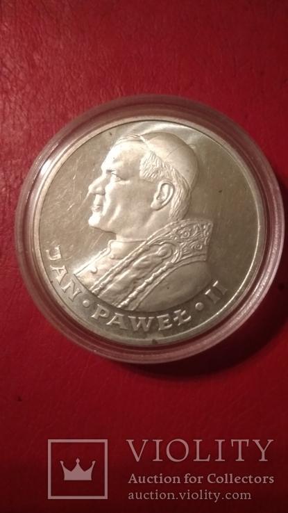 1000 злотых  серебро, фото №3