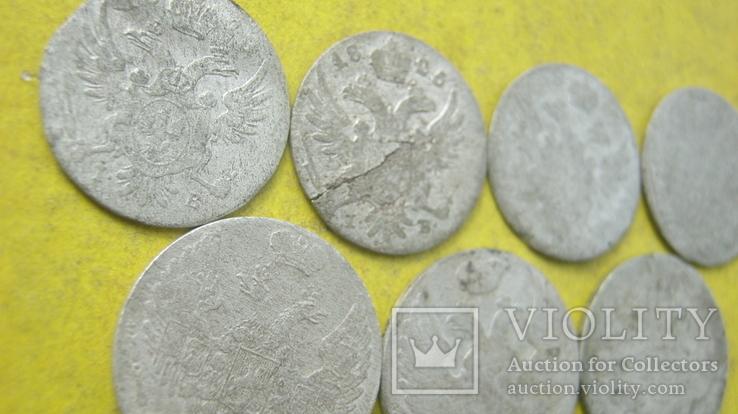 Срібні гроши різних років та номіналів Росіі для Польші, фото №8