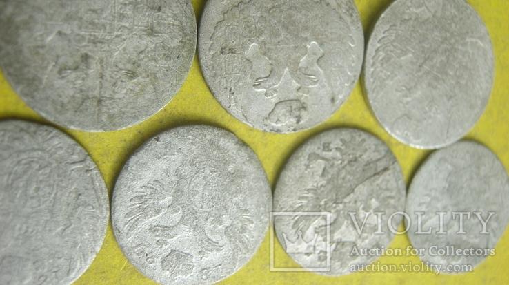 Срібні гроши різних років та номіналів Росіі для Польші, фото №11