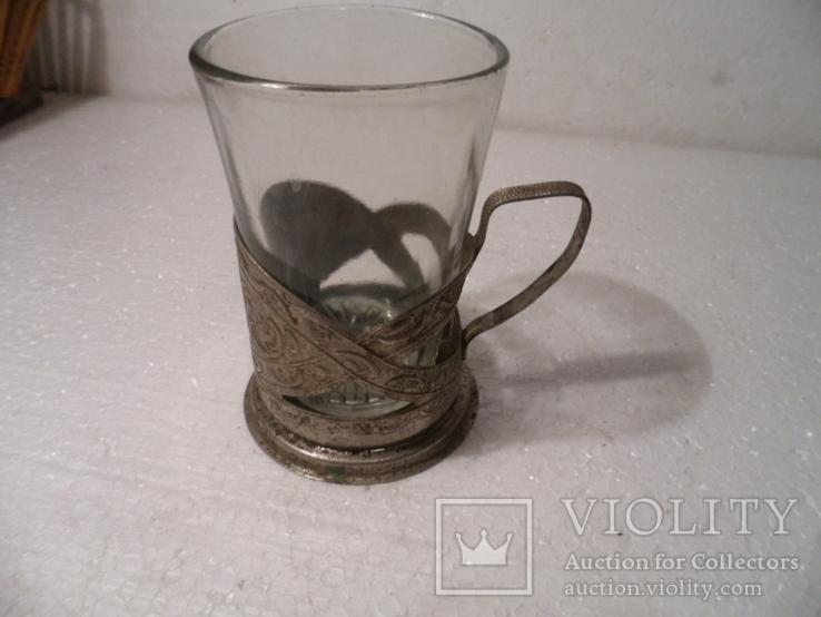 Подстаканник * Запорожье*  со стаканом., фото №2