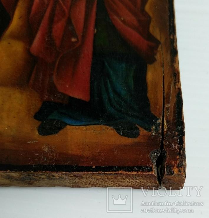 Ікона св.муч.Наталії та св.Кирилія,іменинник,мініатюра, фото №7