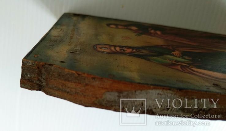 Ікона св.муч.Наталії та св.Кирилія,іменинник,мініатюра, фото №10