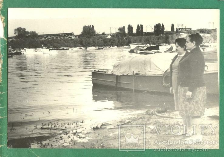 1972 Киев женщины РОП лодки поезд ЖД, фото №2