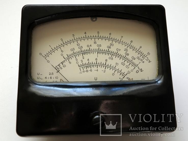 Вольтметр измерительная головка, фото №2