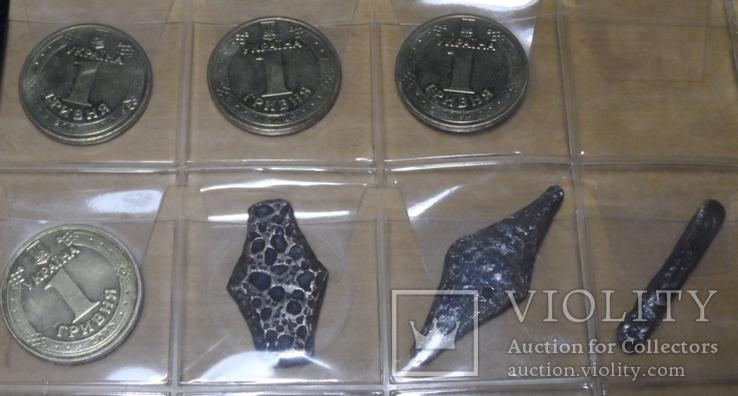 Монета гривна гривня Киевского Черниговского Новгородского типа альбомный набор серебро, фото №5