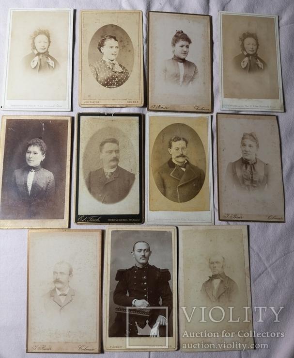 11 фото 1870-90рр однієї родини