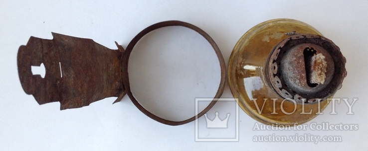 Старая керосиновая лампа, фото №6