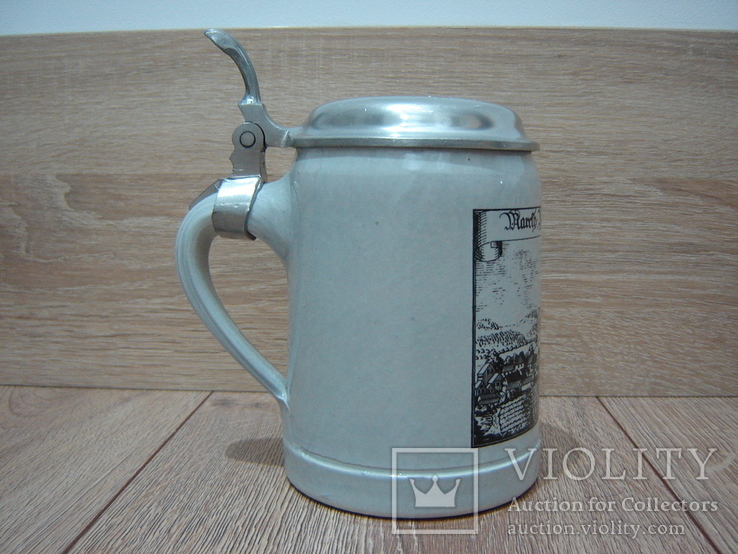 Пивная кружка, бокал с крышкой, фото №2