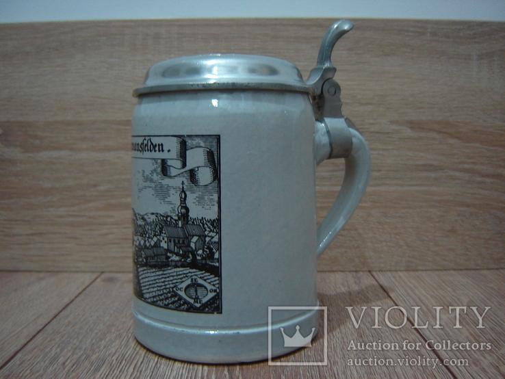 Пивная кружка, бокал с крышкой, фото №5