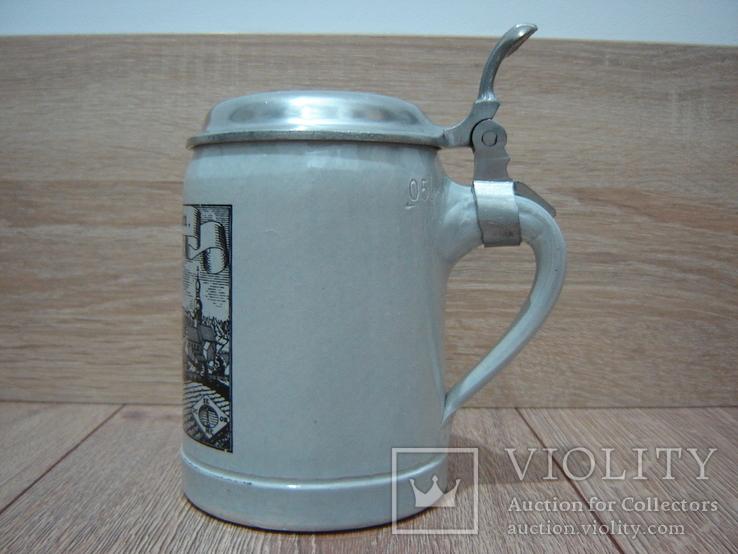 Пивная кружка, бокал с крышкой, фото №6