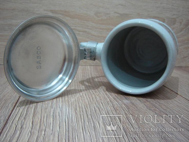 Пивная кружка, бокал с крышкой, фото №13