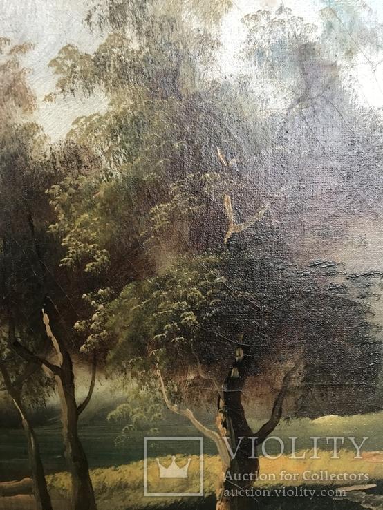 Горное озеро - автор Rudolfo оригинал с сертификатом, фото №9