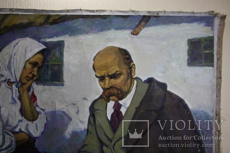 """Картина  """"Т. Г.Шевченко"""" 110х160   Худ. А. Векслер, фото №8"""