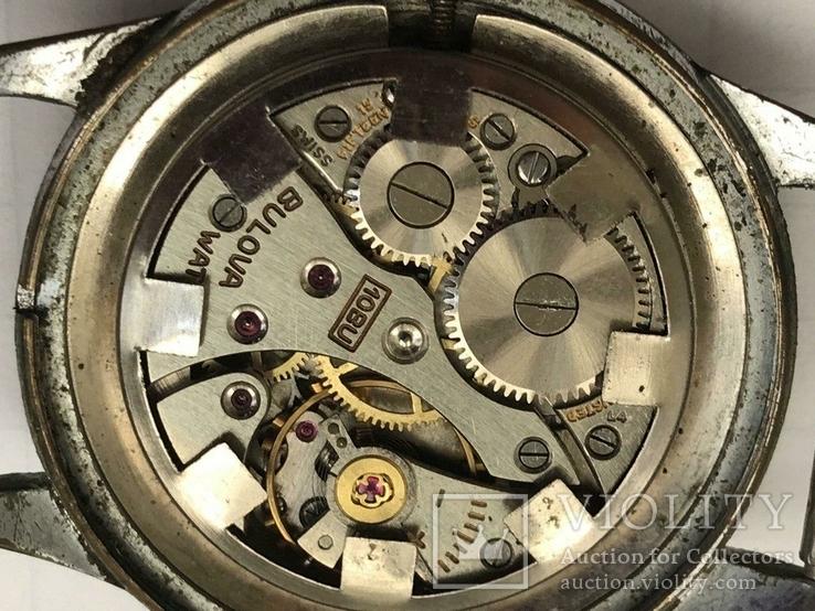Швейцарские часы Bulova 40-50-е гг., фото №5