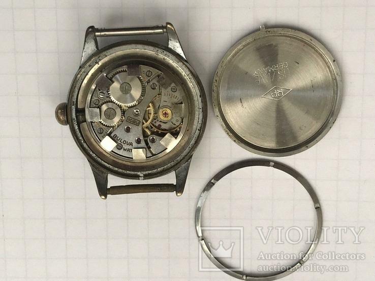 Швейцарские часы Bulova 40-50-е гг., фото №7