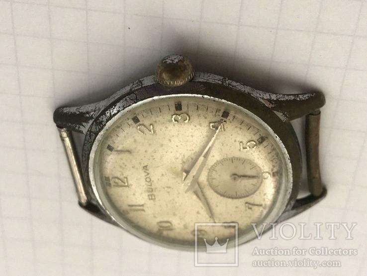 Швейцарские часы Bulova 40-50-е гг., фото №11