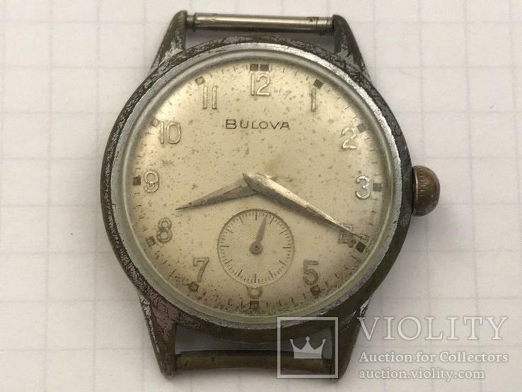 Швейцарские часы Bulova 40-50-е гг., фото №2