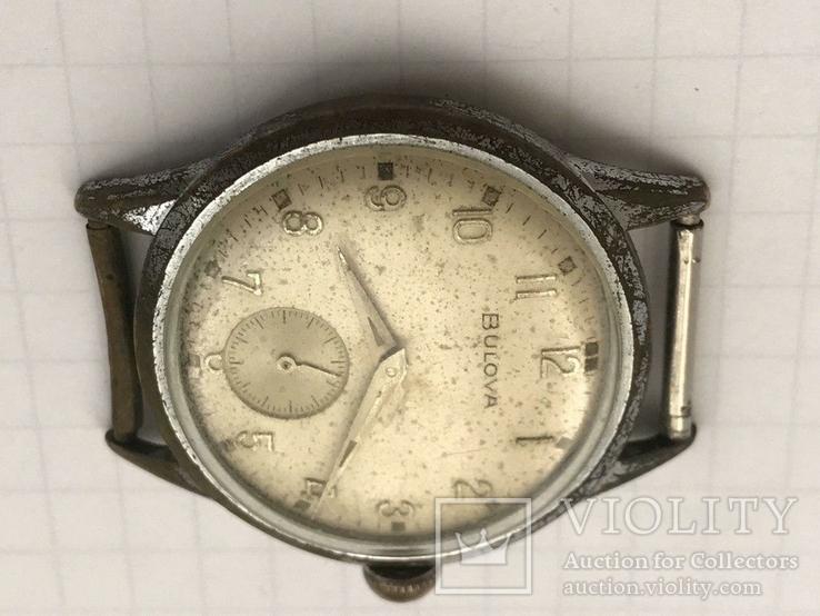 Швейцарские часы Bulova 40-50-е гг., фото №13