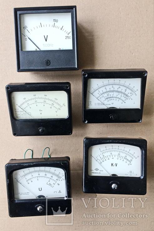 Радиодетали, измерительные приборы., фото №2