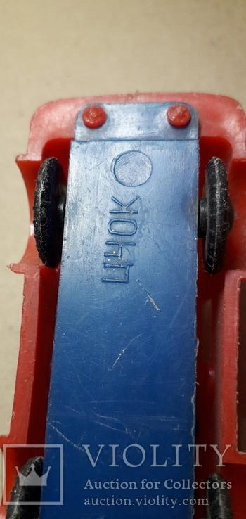 Машинка пожарная из СССР длина 9 см., фото №4