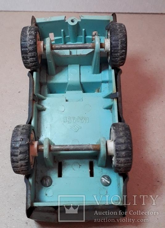 Машинка из СССР длина 11,5 см, фото №5