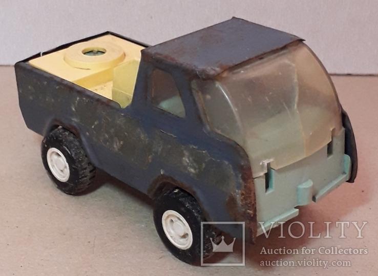 Машинка из СССР длина 11,5 см, фото №3