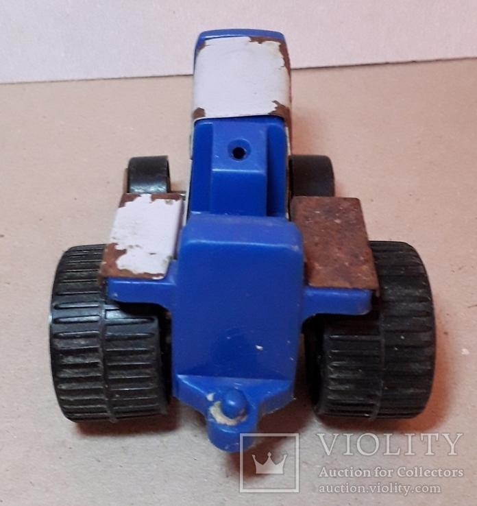 Трактор СССР длина 11 см, фото №5