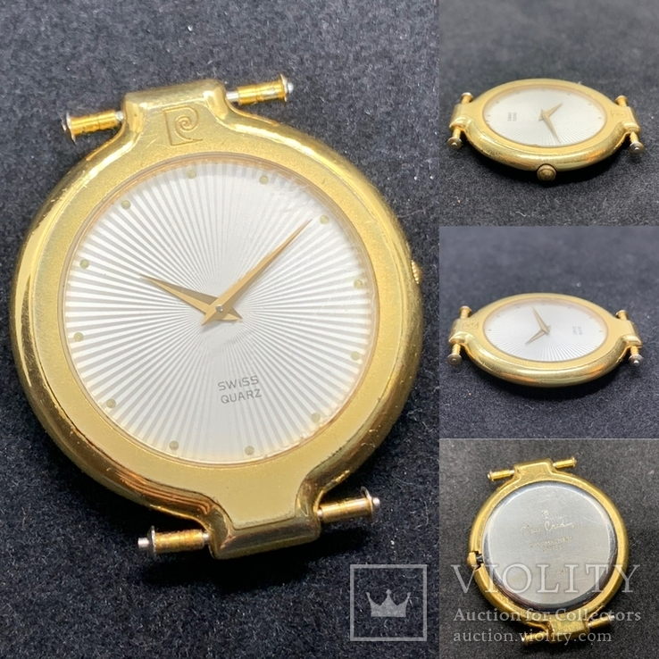 Pierre Cardin Chromachron Swiss Au10 Часы наручные Швейцария, фото №9
