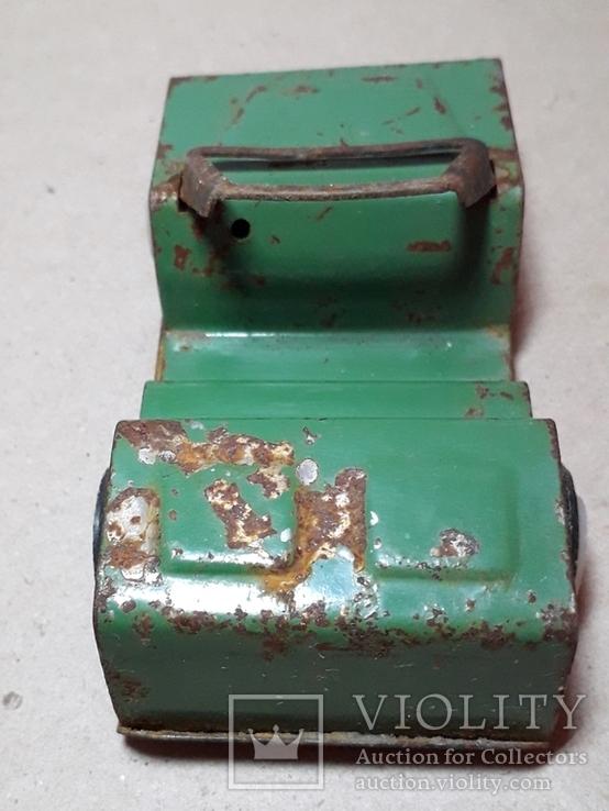 Железная машинка ДЖИП из СССР длина 10 см., фото №8