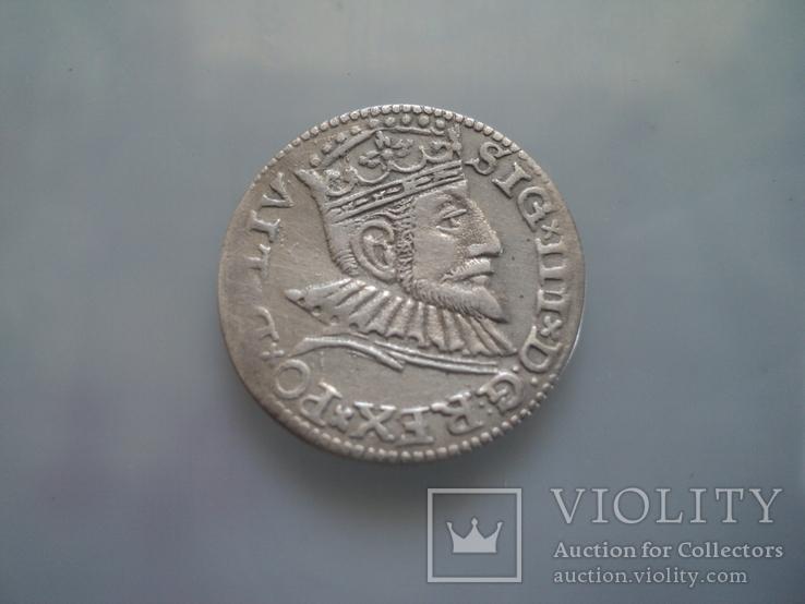 Трояк 1593 г, фото №4