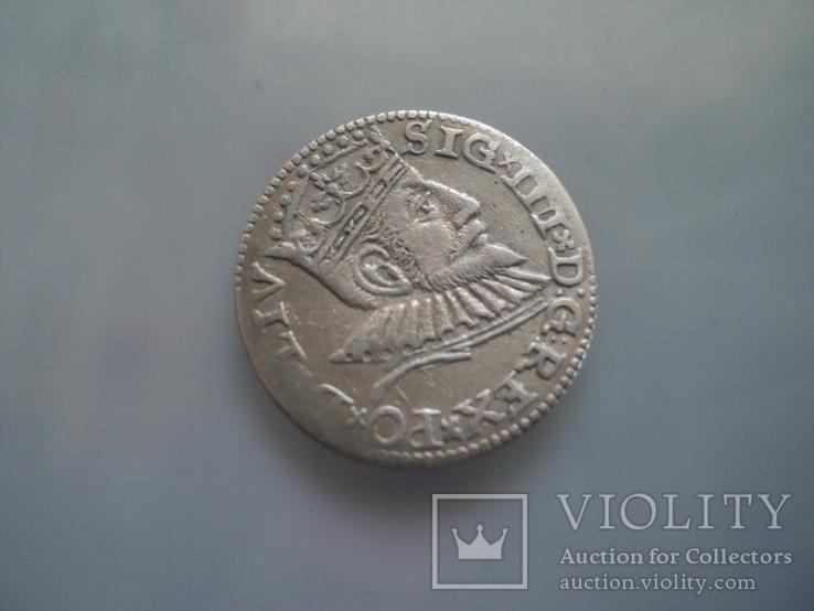 Трояк 1593 г, фото №5