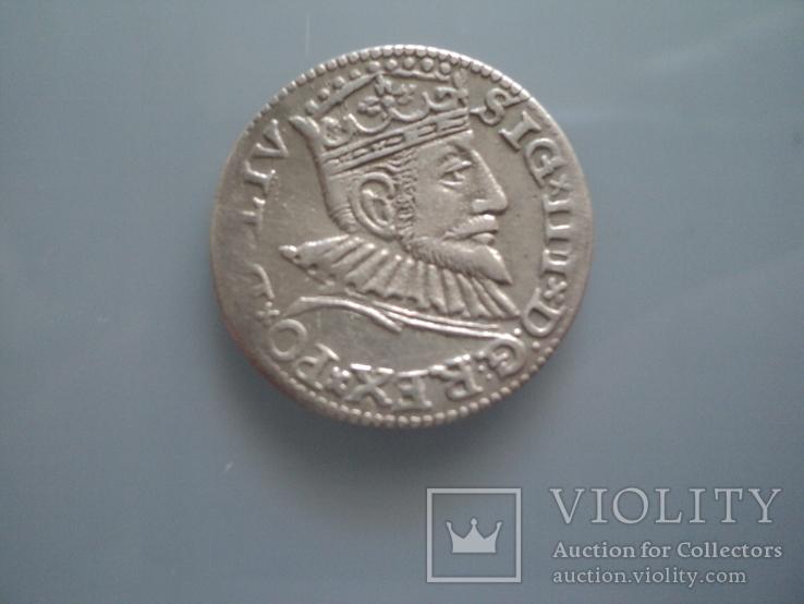 Трояк 1593 г, фото №6