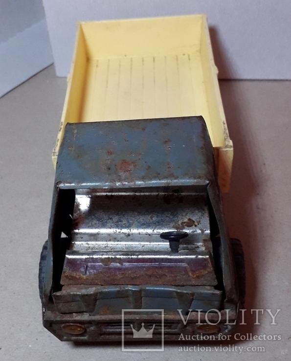 Грузовая машинка времён СССР длина 21 см., фото №8
