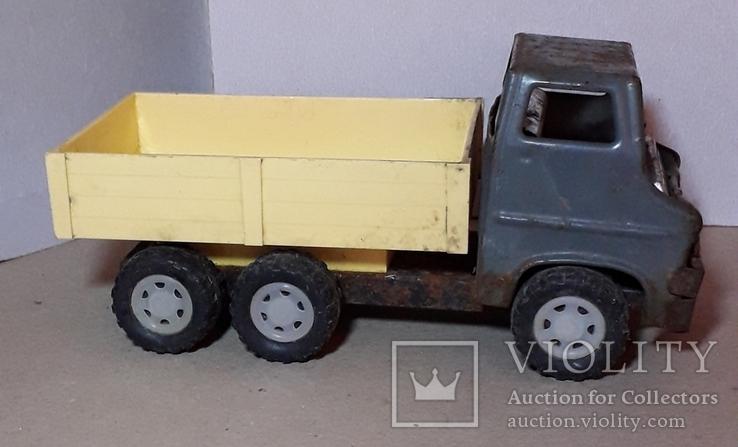 Грузовая машинка времён СССР длина 21 см., фото №3