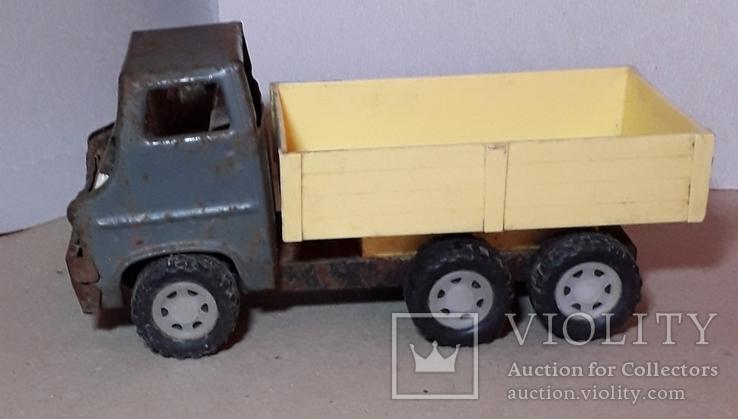 Грузовая машинка времён СССР длина 21 см., фото №4