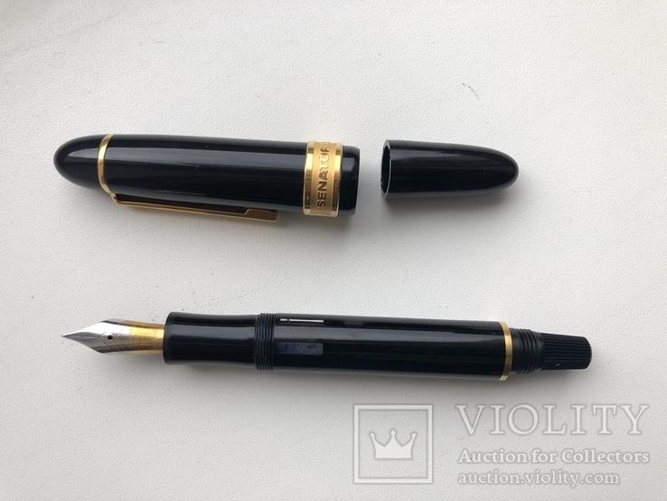 Ручка чернильная.  Фирма - «Сенатор». Модель- «Президент», фото №10