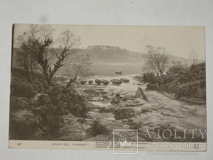 Открытка Салон 1910 A. Rigolot   №43, фото №2