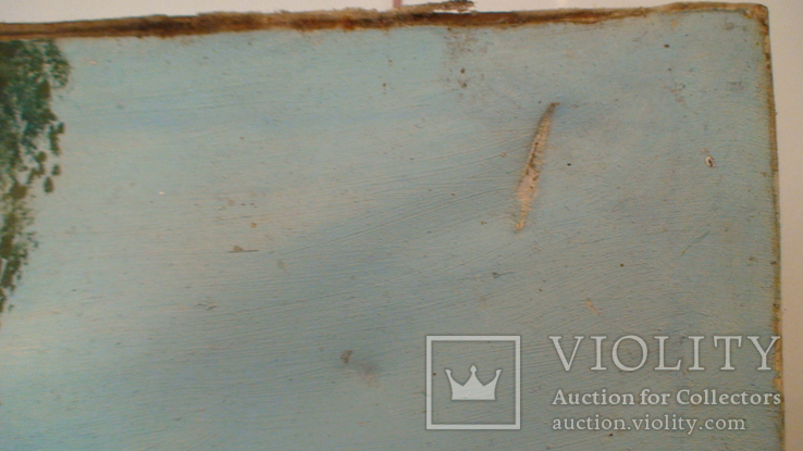 Картина СССР. Свидание у колодца. Масло. Холст. Копия., фото №6