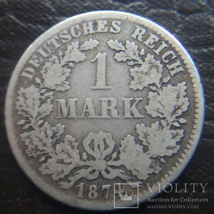 1 марка 1874 рік, фото №2