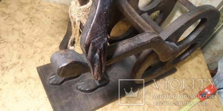 """Большая подставка для вина """"Абориген"""", фото №8"""