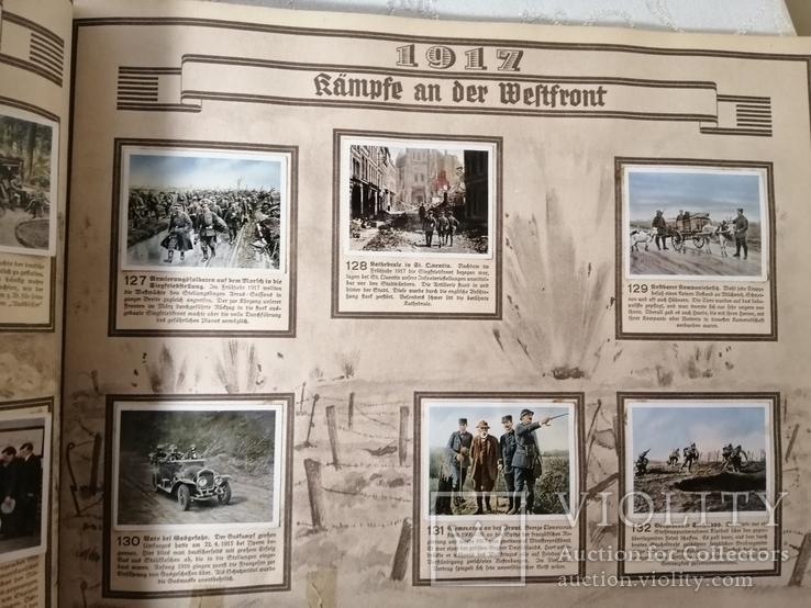 Книга альбом Германия первая мировая война с этикетками вкладышами, фото №5