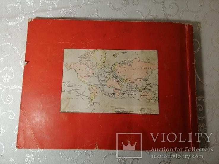 Книга альбом Германия первая мировая война с этикетками вкладышами, фото №7