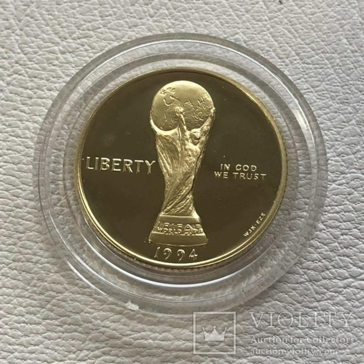 США 5$ 1994 год 8,35 грамм 900', фото №2
