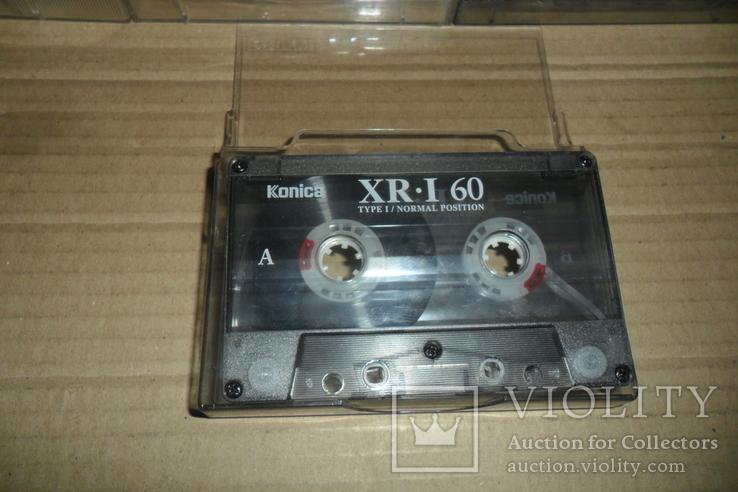 Аудиокассета кассета Konica Range Fuji и др. - 9 шт в лоте, фото №5
