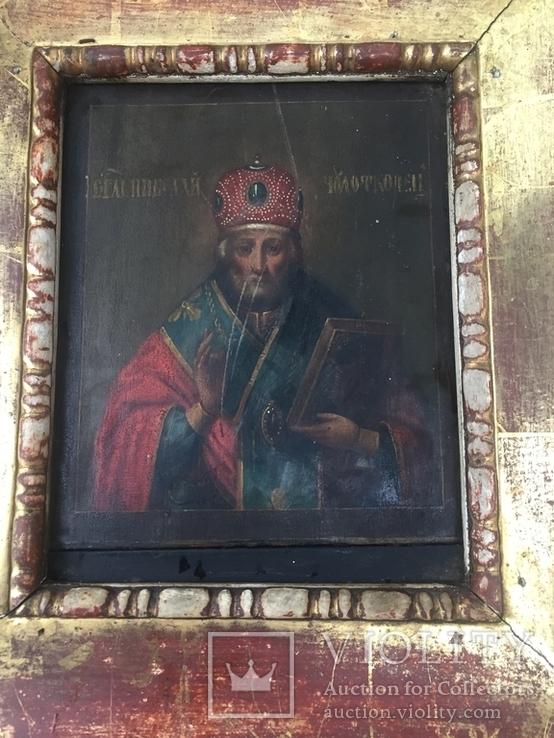Икона Николай Чудотворец, фото №7
