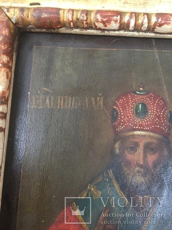 Икона Николай Чудотворец, фото №8