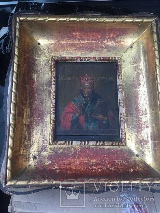 Икона Николай Чудотворец, фото №11