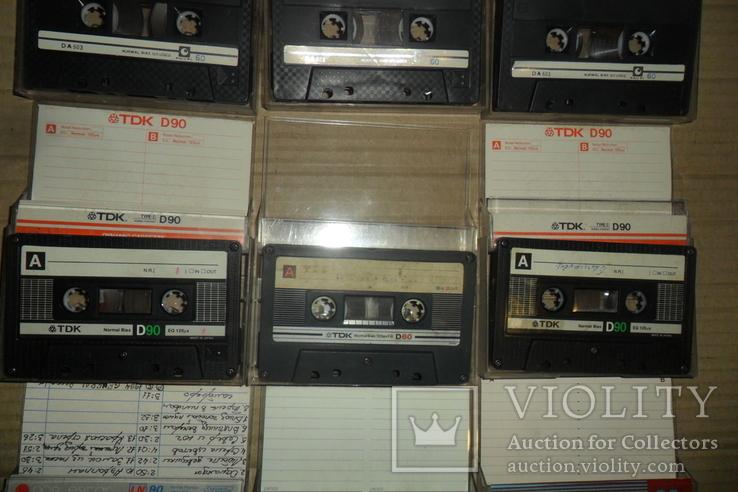 Аудиокассета кассета TDK Swat SNC и др. - 9 шт в лоте, фото №4